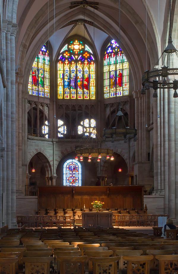 Basler Münster Innenraum