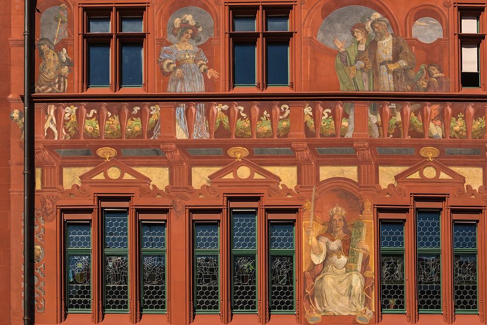 Basler Rathaus Detail 01