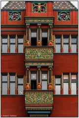 Basler Rathaus - Fassaden-Detail