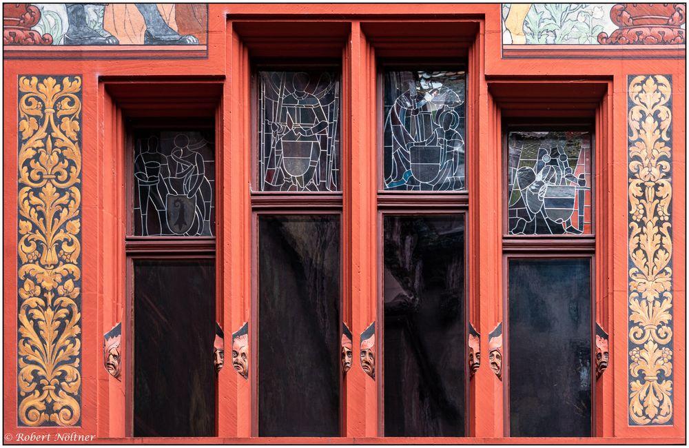 Basler Rathaus - Innenhof-Detail
