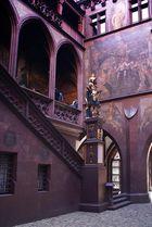 """Basler Rathaus - Statue des """"Lucius Munatius Plancus"""""""