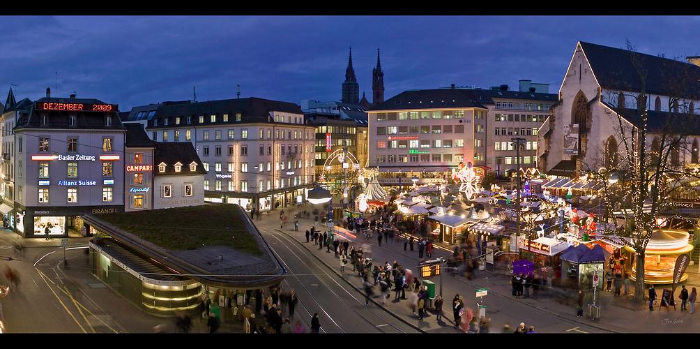 Basler weihnachtsmarkt iii foto bild architektur - Architektur basel ...