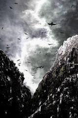 Bass Rock Felsenschlucht