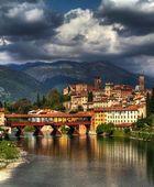 Bassano del Grappa ed il ponte degli Alpini