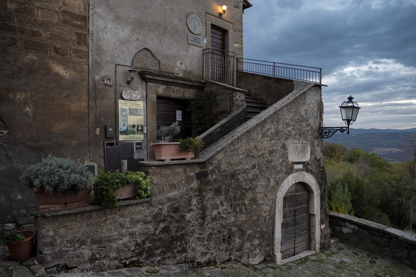 Bassano in Teverina, via delle fonti