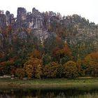 Bastei im Herbst
