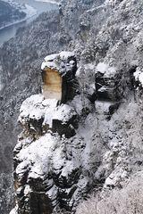 Bastei mit Blick auf das Elbtal