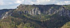 Basteiblick vom Gamrig mit einem Teil eines kurzen Panoramas...