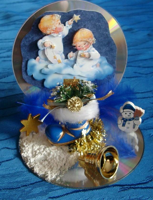 Basteln Mit Cd S Foto Bild Stillleben Figuren Und Miniaturen