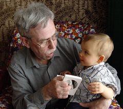 Bastian und der Papa vom Papa