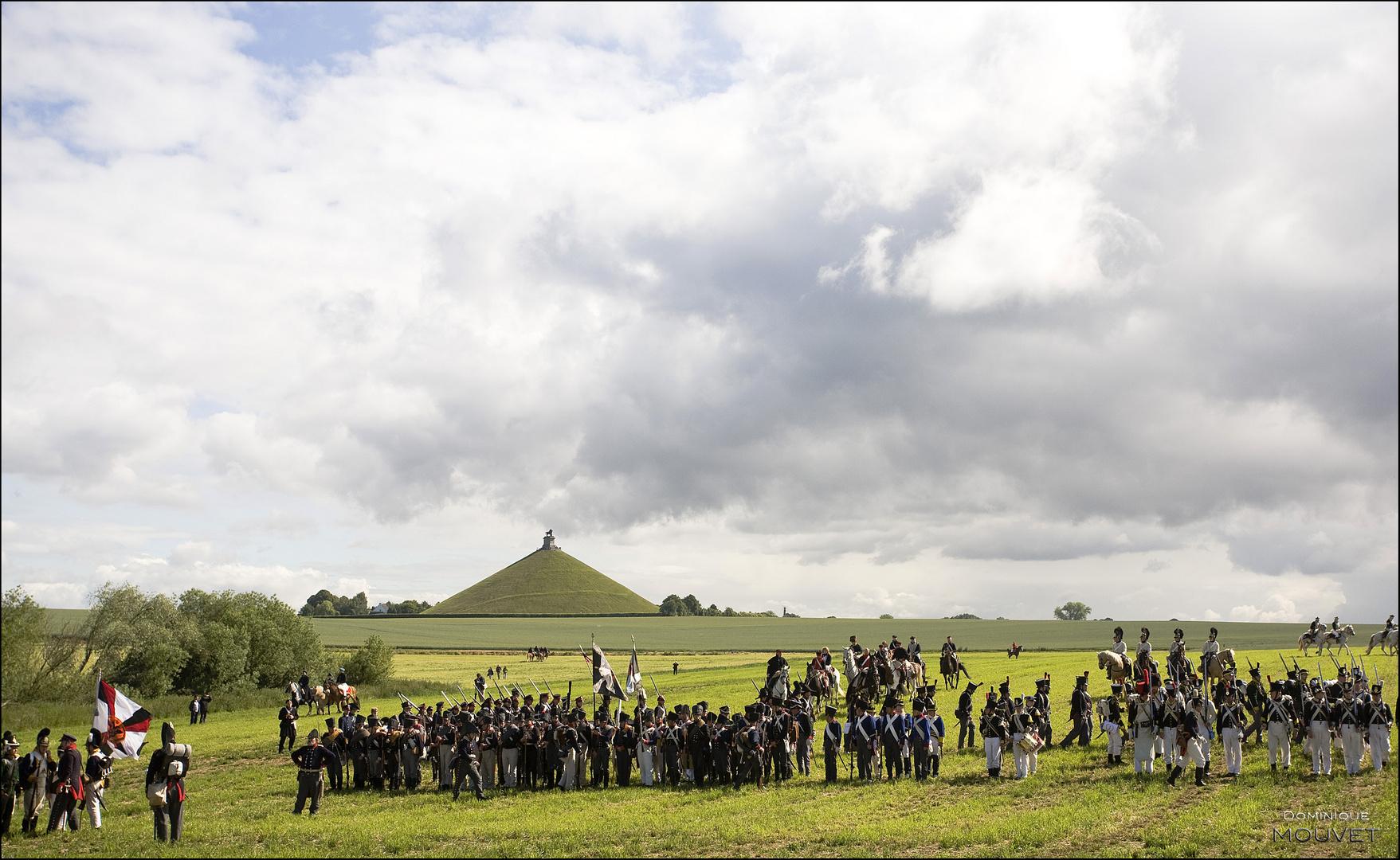 bataille de Waterloo reconstitution 2010