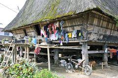 BATAK Dorf Sumatra