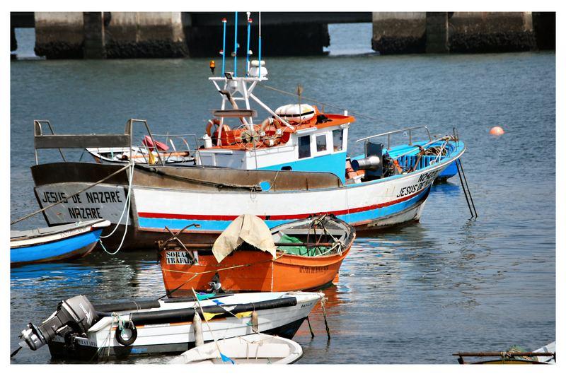 Bateaux au Tejo