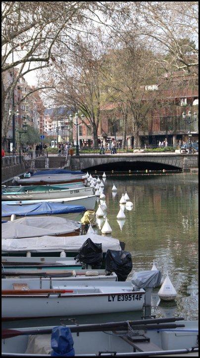 Bateaux sur l'eau