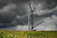 """Bau einer modernen """"Windmühle"""""""