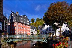 Bauarbeiten in Monschau