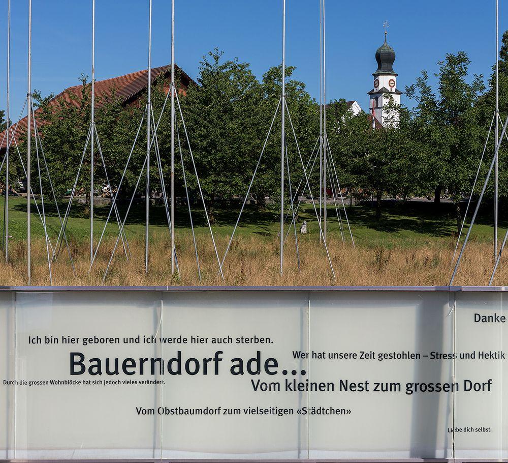 Bauerndorf ade ...