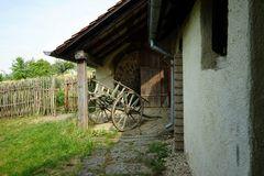 Bauerngehöft, Terrasse