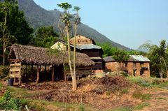 Bauernhäuser in Bungkot