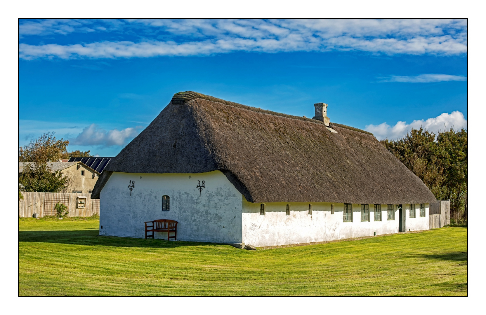 Bauernhaus auf Mandø