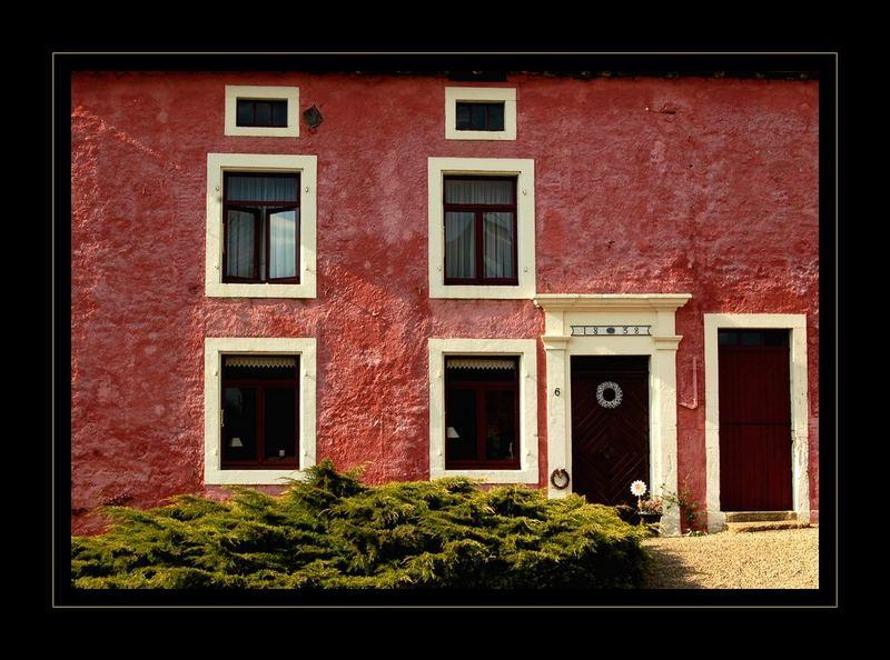 Bauernhaus in Wallonien (BEL)