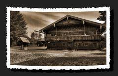 Bauernhausmuseum in Amerang / Altes Foto ;-)