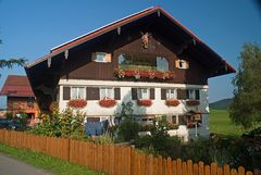 Bauernhof bei Hopfen (Stiefenhofen)