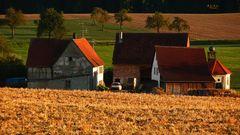 """"""" Bauernhof mit Kapelle bei Dächingen """""""