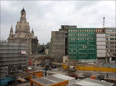 Bauplatz Frauenkirche
