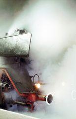 Baureihe 044 im Dampf