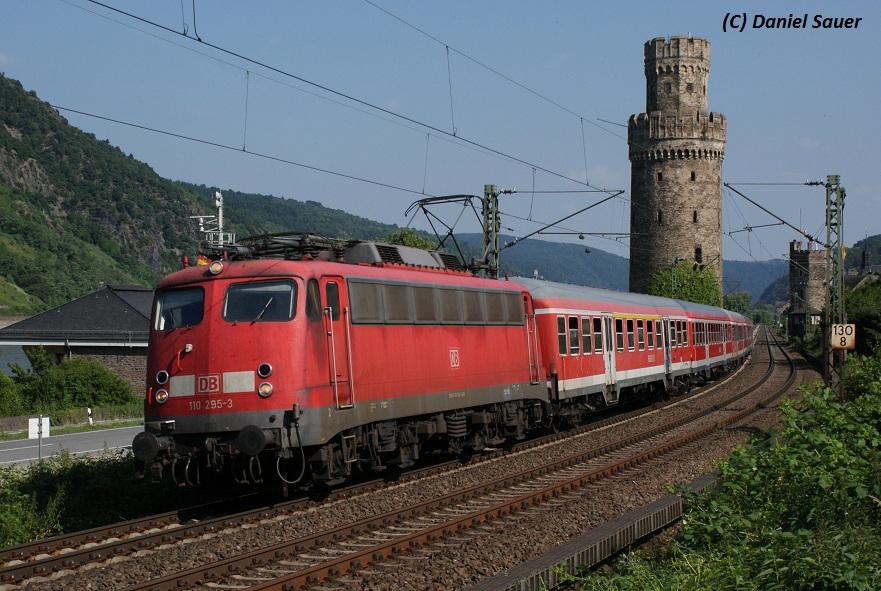 Baureihe 110 am Rhein 2010