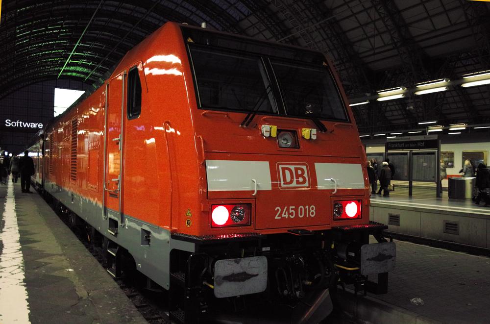 Baureihe 245 scharf
