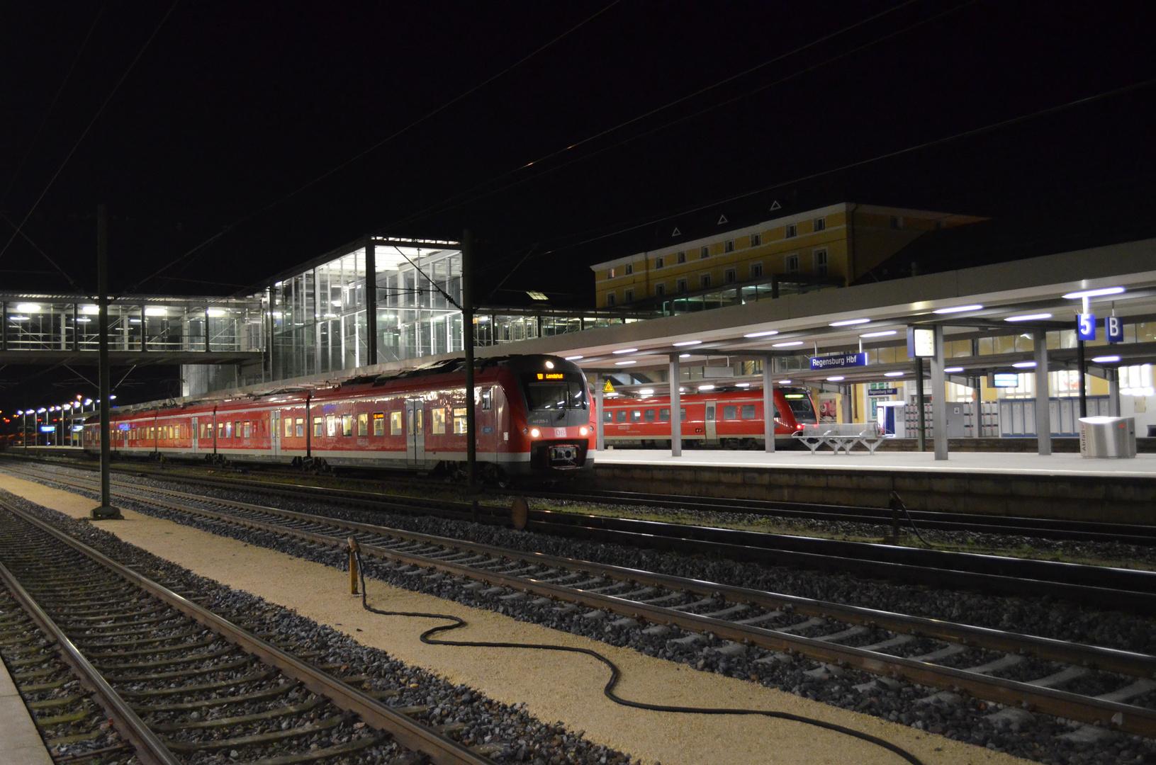 Baureihe 440 in Regensburg HBF