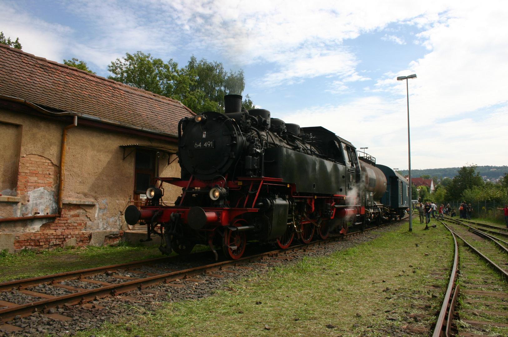 Baureihe 64 in Meiningen