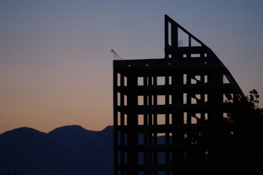 Bauruine oder bald Hotel?