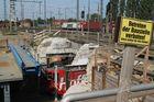 Baustelle Bahnhofstunnel...