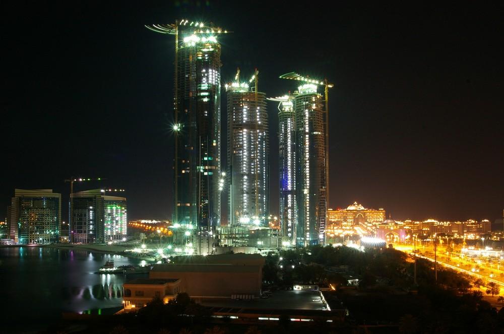 Baustelle - Etihad Towers / Abu Dhabi