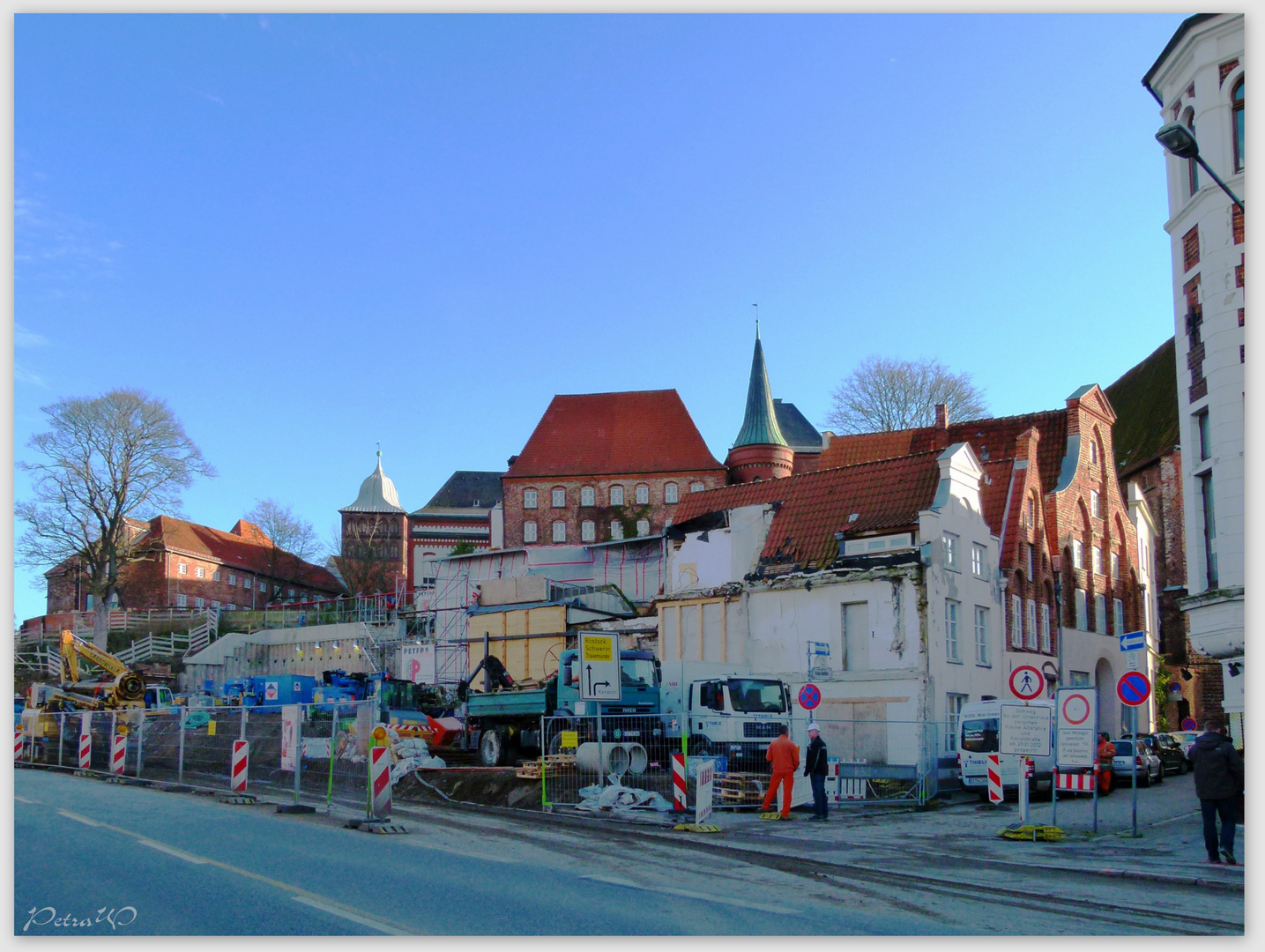 Baustelle Hansemuseum
