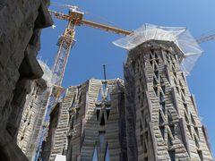 Baustelle hoch oben