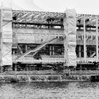 Baustelle im Innenhafen von Duisburg