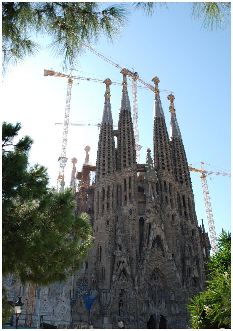 Baustelle seit 1882 - La Sagrada Familia