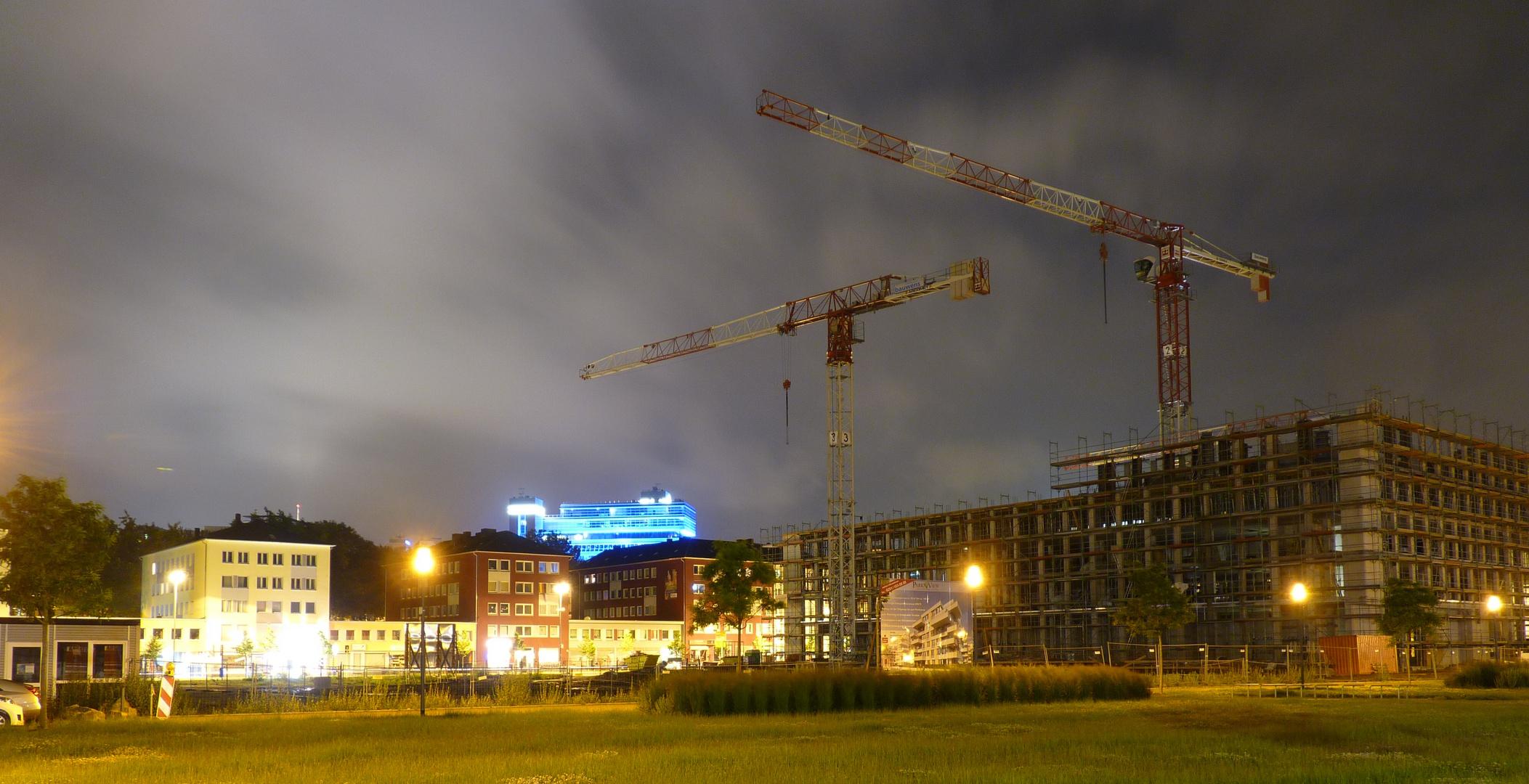 Baustelle Universitätsviertel