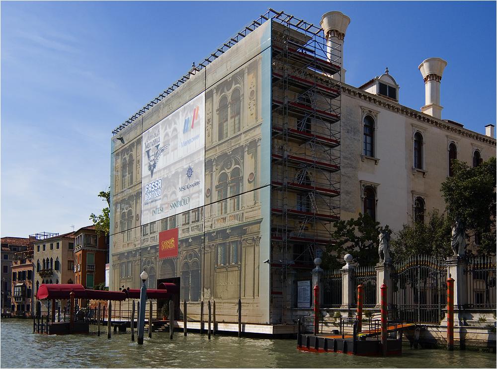 Baustelle Venedig 01