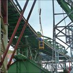 Baustelle Wuppertal-Oberbarmen - Schwebebahnendstation
