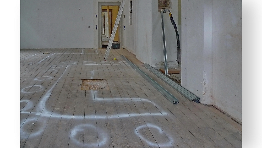 Baustellenromantik 15 ... Wenig Arbeit ist eine Illusion. (Silvia Witt)