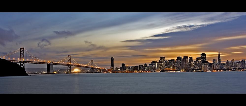 Bay Bridge - Frisco/Oakland