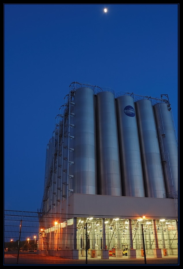 Bayer Dormagen - Silostation