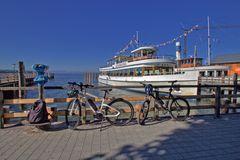 Bayerische Seenschiffahrt in Stegen am Ammersee