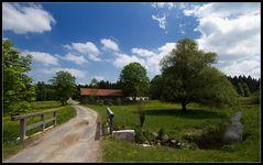 Bayerischer Frühling, ländliche Idylle