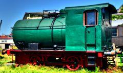 Bayerisches Eisenbahnmuseum Dampspeicherlokomotive